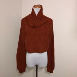 ABOUND medium Crop Top Sweater